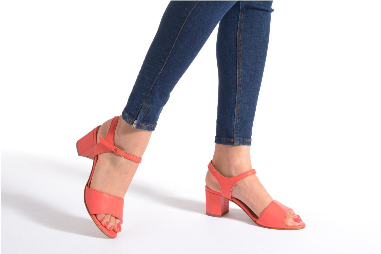 Sandales et nu-pieds Georgia Rose Lubul Multicolore vue bas / vue portée sac