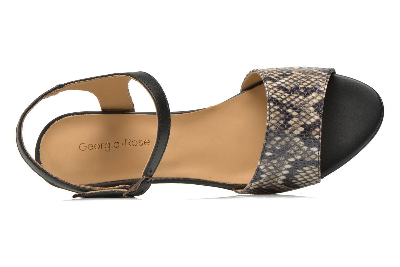 Sandales et nu-pieds Georgia Rose Lubul Multicolore vue gauche