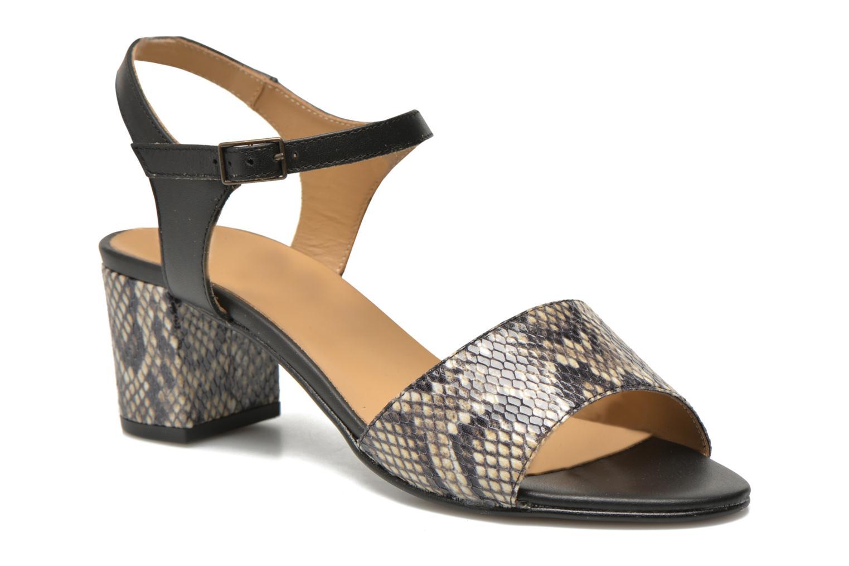 Sandales et nu-pieds Georgia Rose Lubul Multicolore vue détail/paire