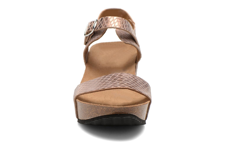 Sandales et nu-pieds Rondinaud Bionne Rose vue portées chaussures
