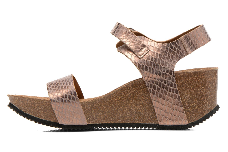 Sandales et nu-pieds Rondinaud Bionne Rose vue face