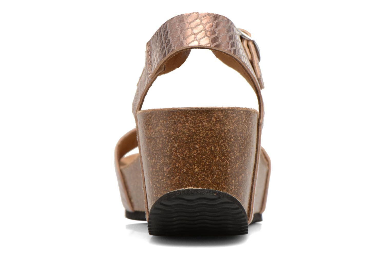 Sandales et nu-pieds Rondinaud Bionne Rose vue droite