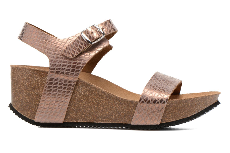 Sandales et nu-pieds Rondinaud Bionne Rose vue derrière