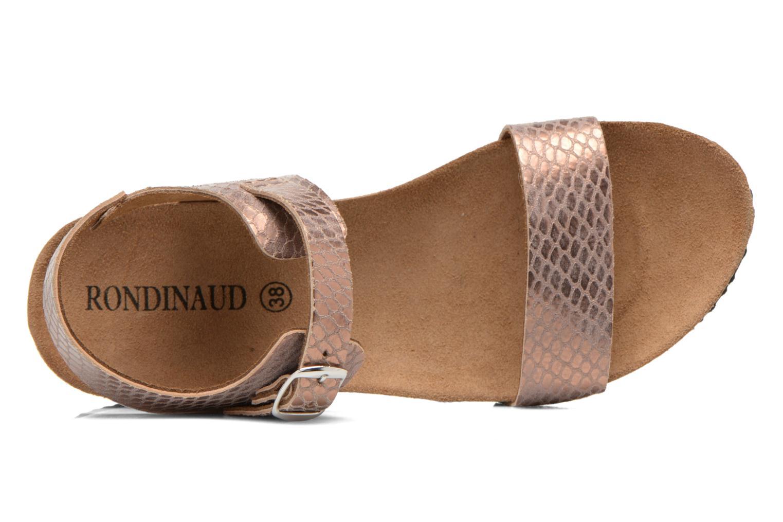 Sandales et nu-pieds Rondinaud Bionne Rose vue gauche