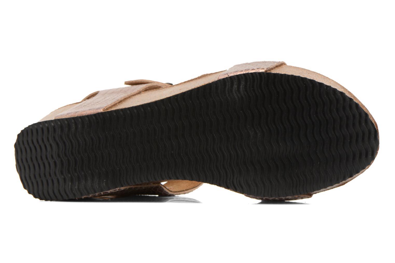 Sandales et nu-pieds Rondinaud Bionne Rose vue haut