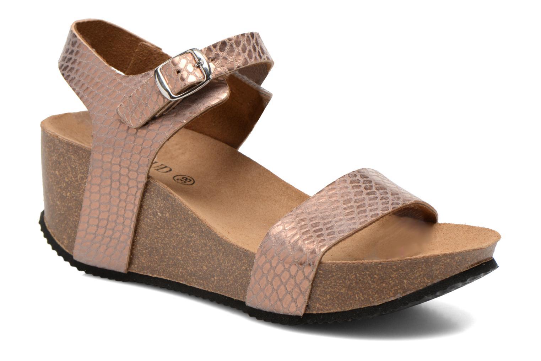 Sandales et nu-pieds Rondinaud Bionne Rose vue détail/paire
