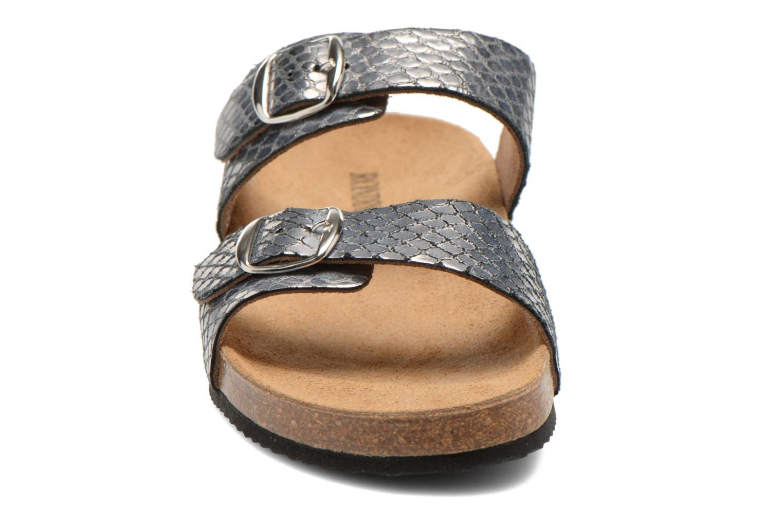 Mules et sabots Rondinaud Autize Argent vue portées chaussures