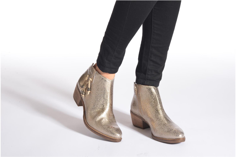 Bottines et boots Khrio Monteria 2 Or et bronze vue bas / vue portée sac
