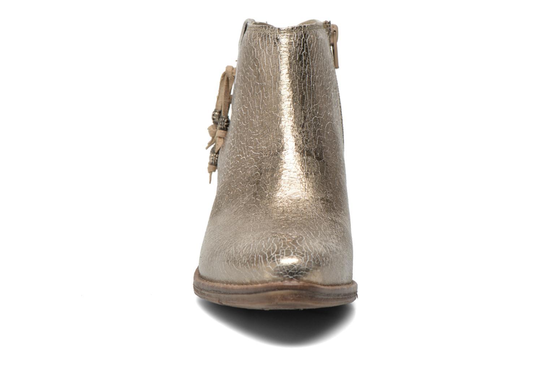 Bottines et boots Khrio Monteria 2 Or et bronze vue portées chaussures