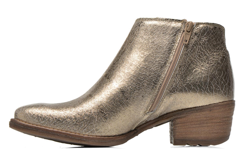 Bottines et boots Khrio Monteria 2 Or et bronze vue face