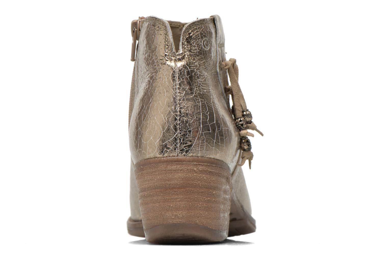 Bottines et boots Khrio Monteria 2 Or et bronze vue droite