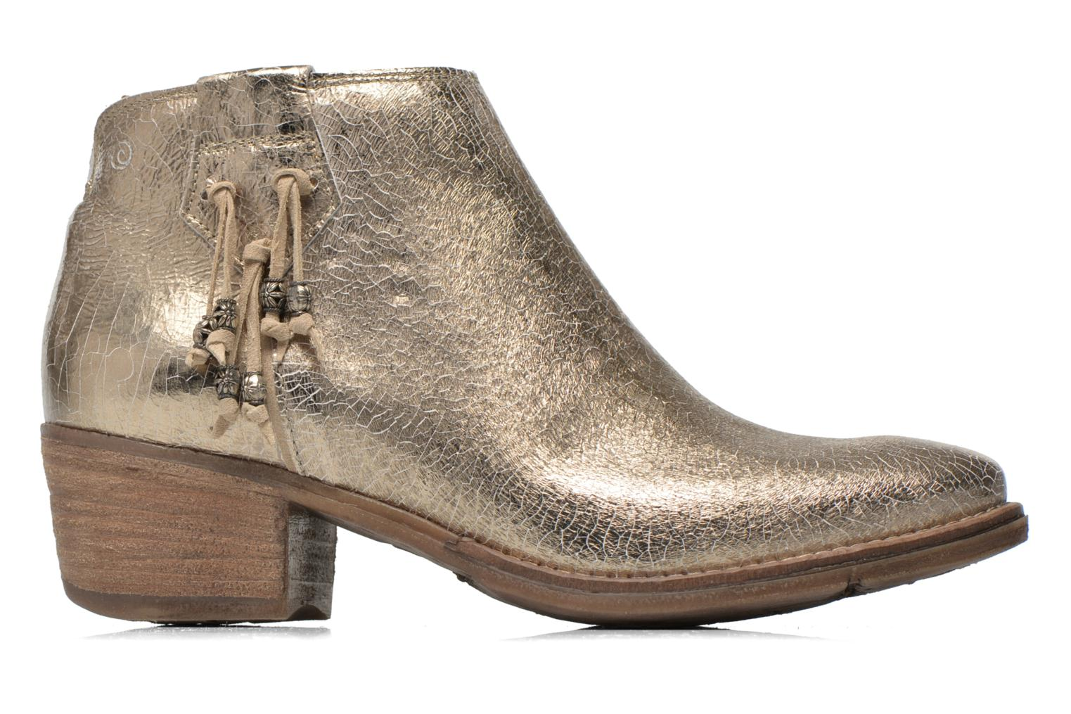 Ankle boots Khrio Monteria 2 Bronze and Gold back view