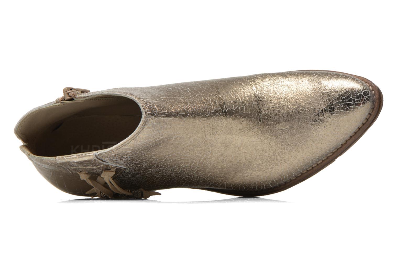 Bottines et boots Khrio Monteria 2 Or et bronze vue gauche
