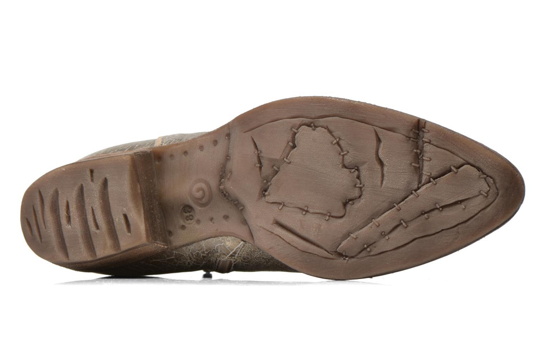 Bottines et boots Khrio Monteria 2 Or et bronze vue haut