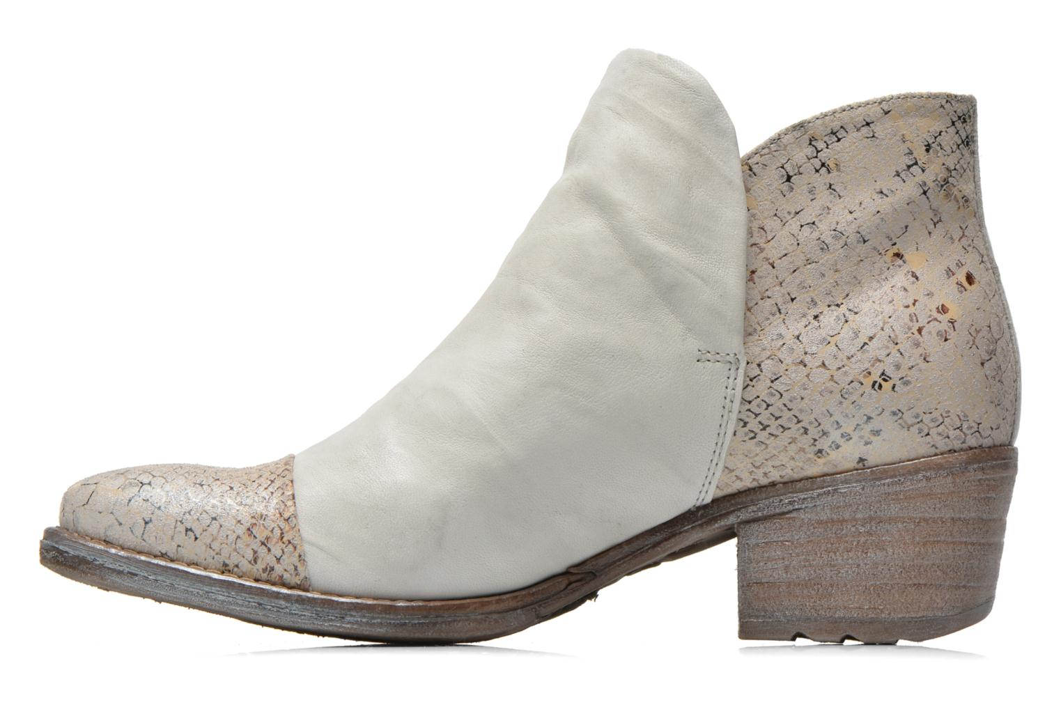 Ankle boots Khrio Cucuta Beige front view