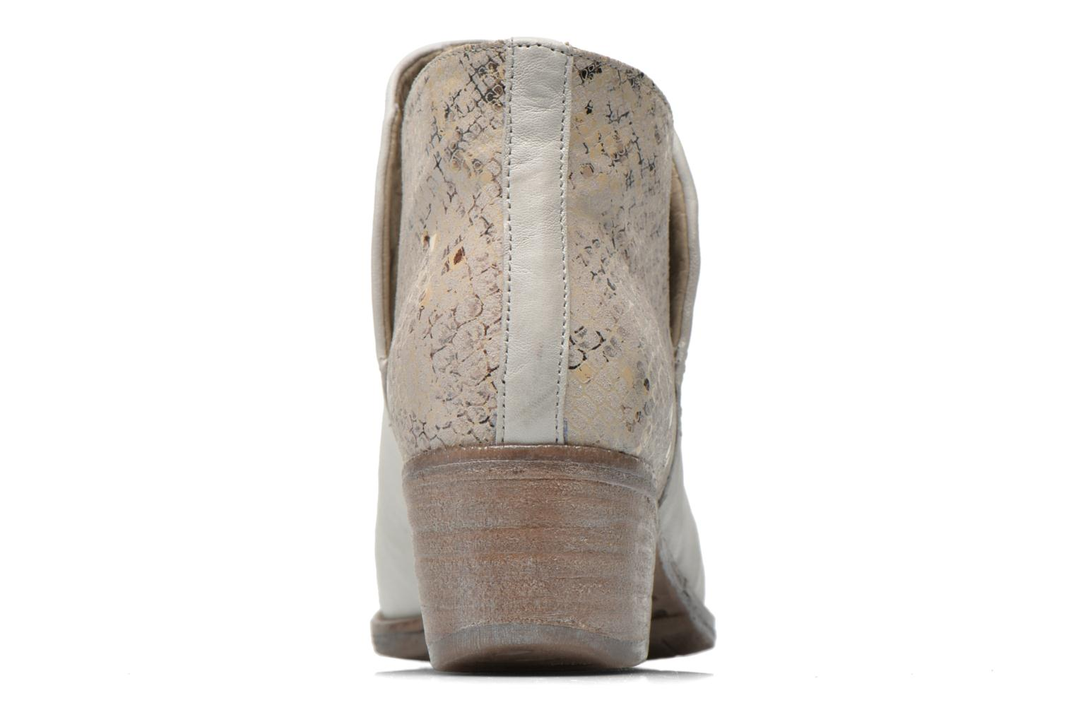 Ankle boots Khrio Cucuta Beige view from the right