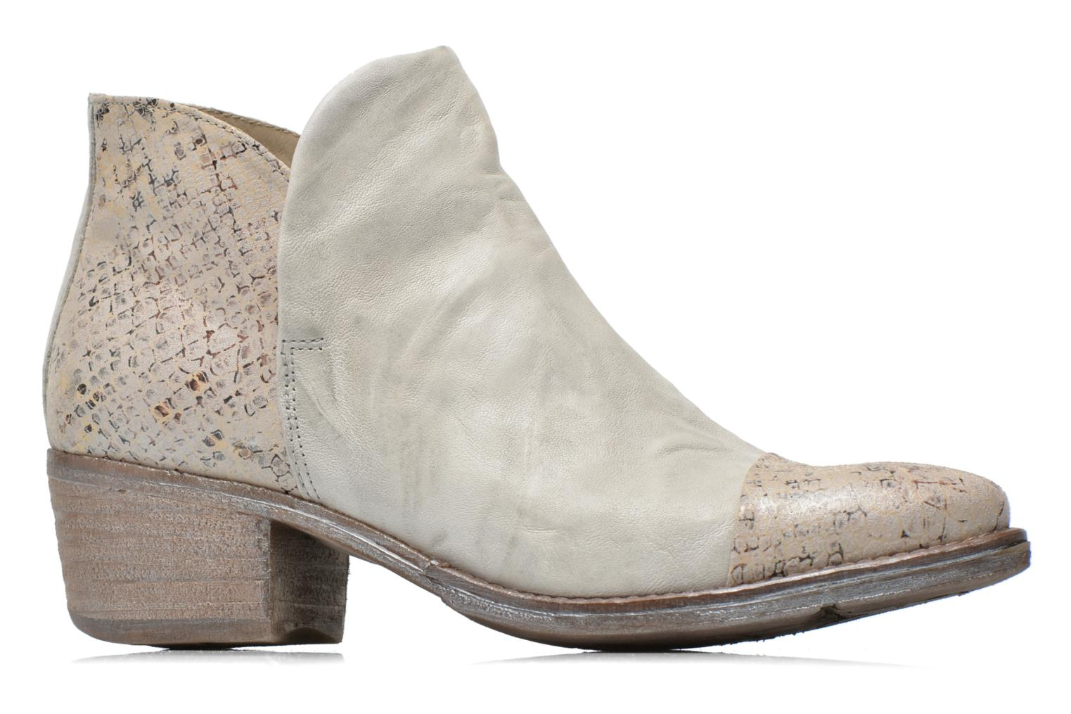Ankle boots Khrio Cucuta Beige back view