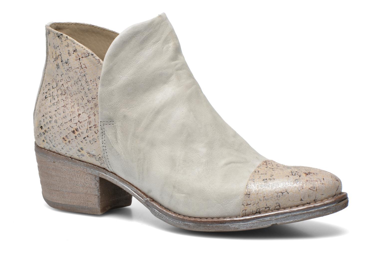 Boots en enkellaarsjes Khrio Cucuta Beige detail