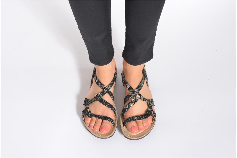 Sandales et nu-pieds Khrio Popayan Multicolore vue bas / vue portée sac