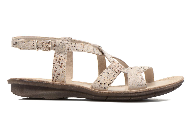 Sandales et nu-pieds Khrio Popayan Multicolore vue derrière