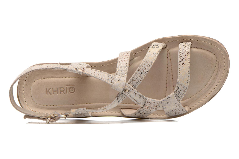 Sandales et nu-pieds Khrio Popayan Multicolore vue gauche