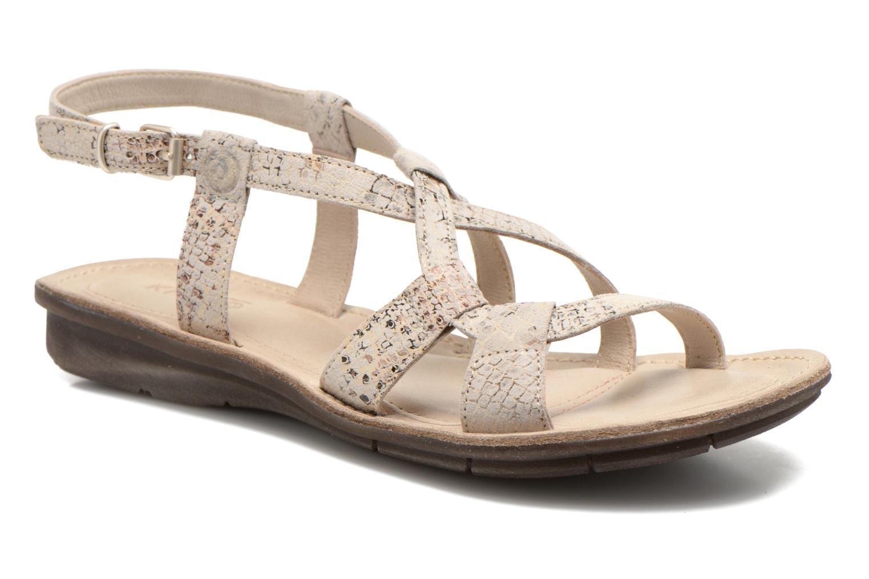 Sandales et nu-pieds Khrio Popayan Multicolore vue détail/paire