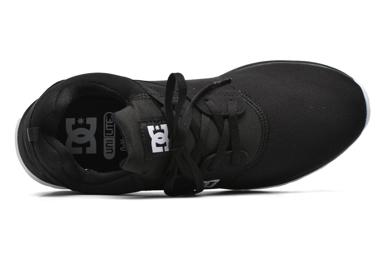Sneakers DC Shoes Heathrow Zwart links