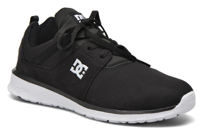 Sneakers DC Shoes Heathrow Zwart detail