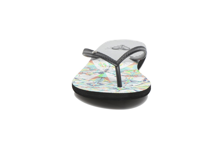 Tongs Roxy Bermuda Multicolore vue portées chaussures