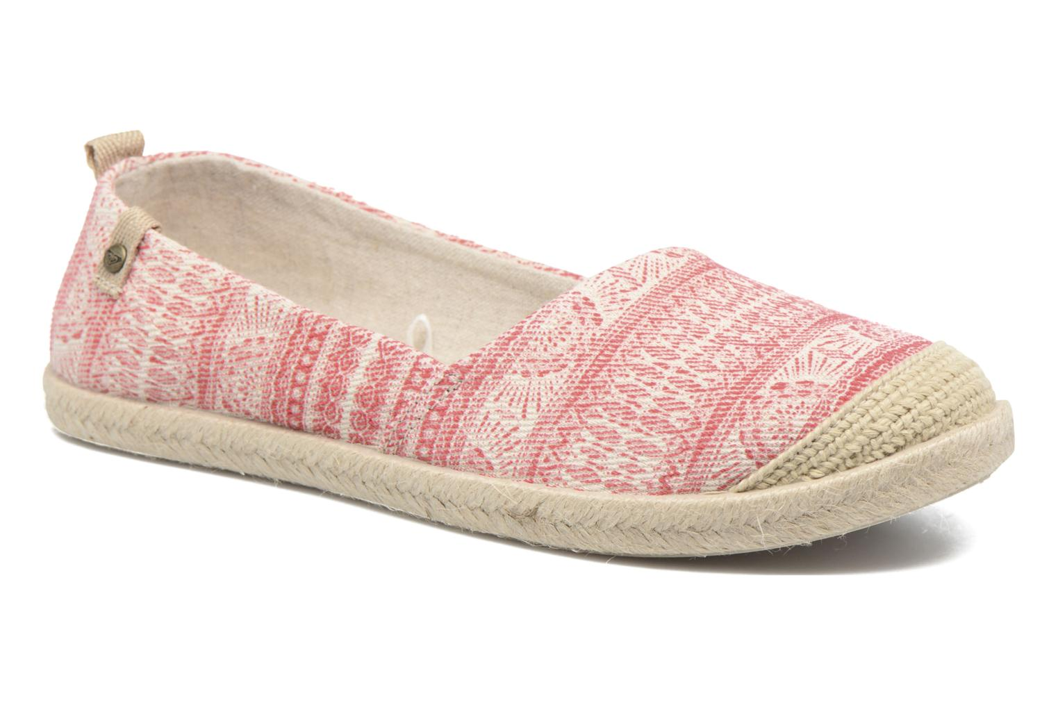 Espadrilles Roxy Flamenco Pink detailed view/ Pair view