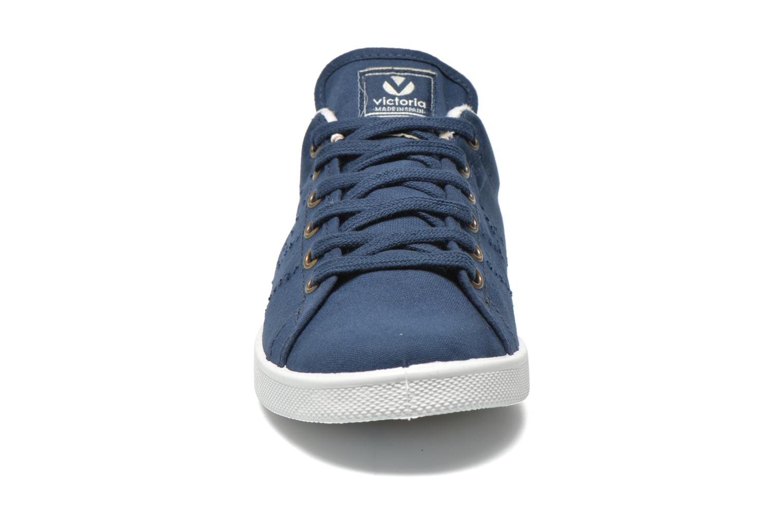Sneakers Victoria Deportivo Basket Lona Tinta Blauw model