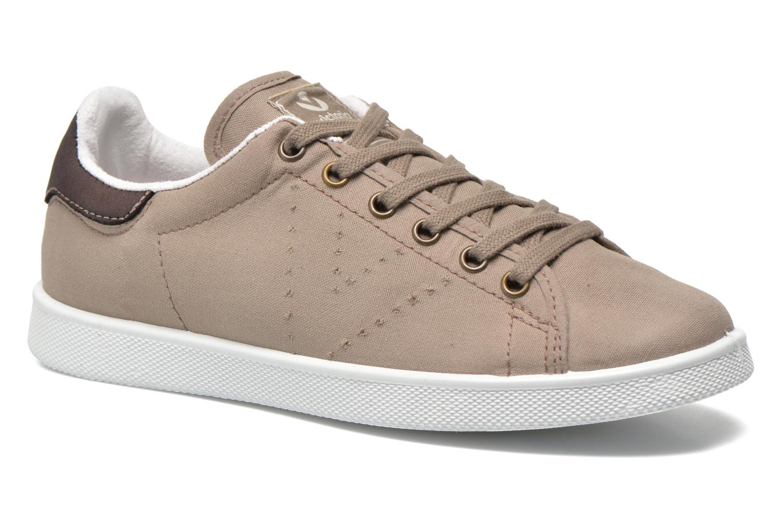 Grandes descuentos últimos zapatos Victoria Deportivo Basket Lona Tinta (Beige) - Deportivas Descuento