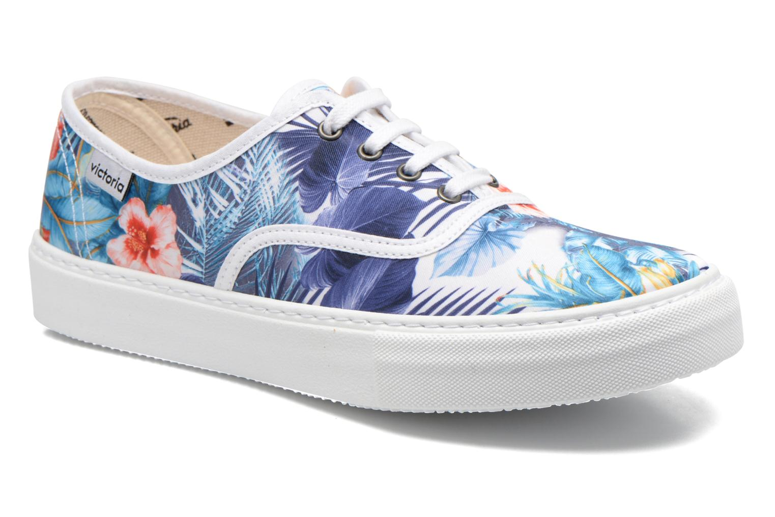 Trainers Victoria Ingles Flores Y Corazones Multicolor detailed view/ Pair view
