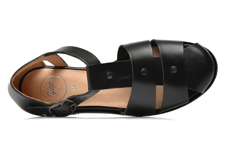 Sandales et nu-pieds Yep Eleonore Noir vue gauche