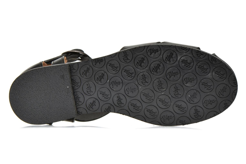 Sandales et nu-pieds Yep Eleonore Noir vue haut