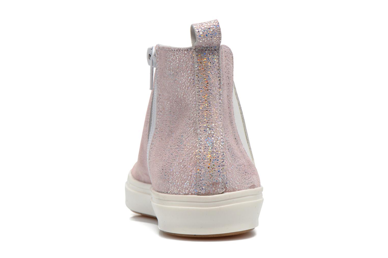 Bottines et boots Yep Clarita Rose vue droite