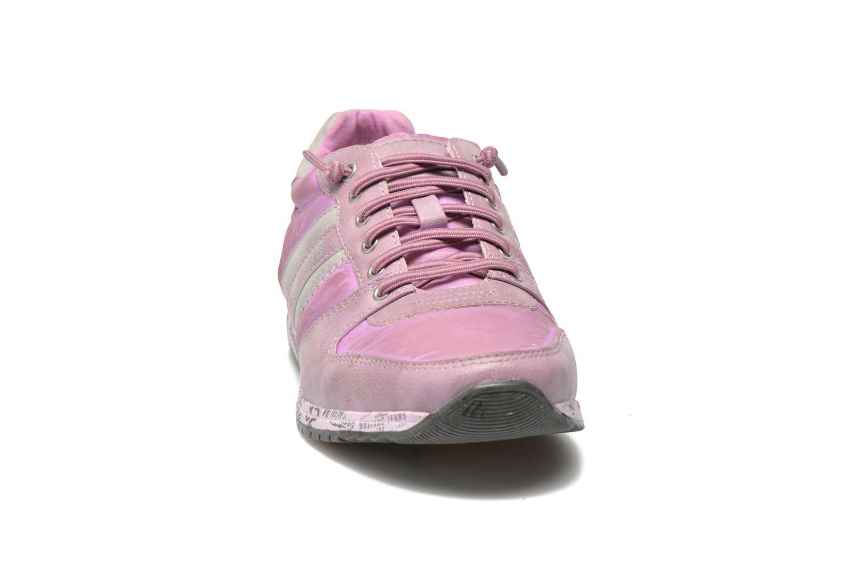 Baskets Mustang shoes Zoé Violet vue portées chaussures