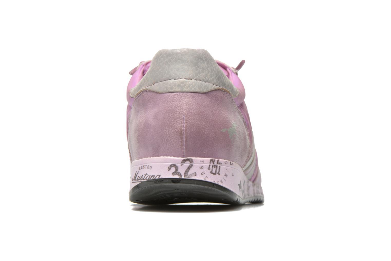 Baskets Mustang shoes Zoé Violet vue droite