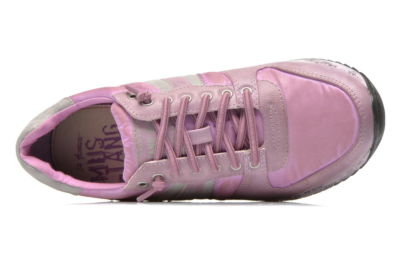 Baskets Mustang shoes Zoé Violet vue gauche