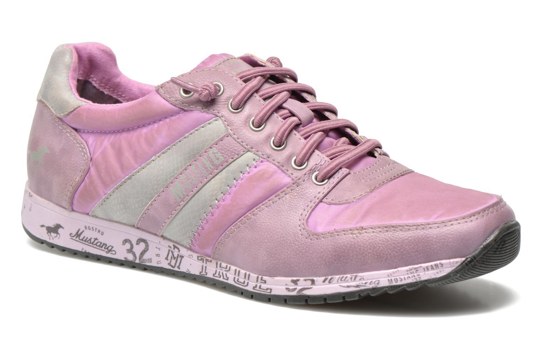 Baskets Mustang shoes Zoé Violet vue détail/paire