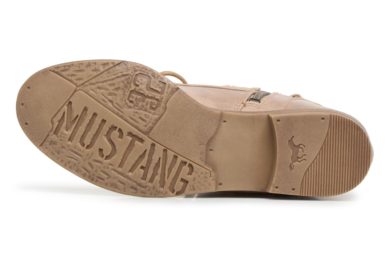Boots Mustang shoes Freeze Beige bild från ovan