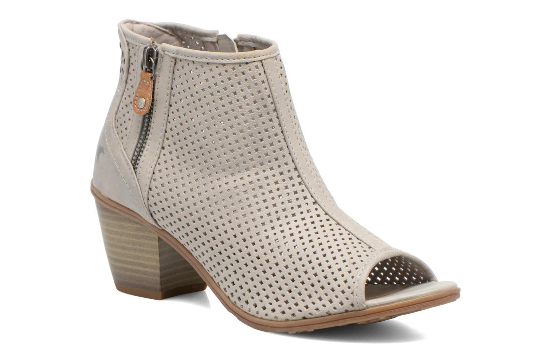 Bottines et boots Mustang shoes Lowle Gris vue détail/paire
