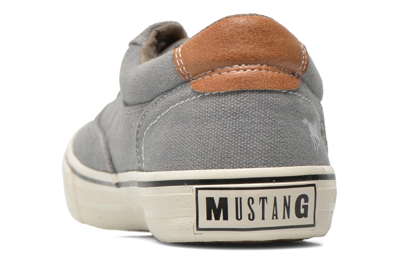Baskets Mustang shoes Shown Gris vue droite