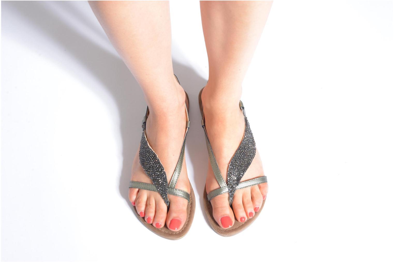 Sandales et nu-pieds Mustang shoes Hom Gris vue bas / vue portée sac