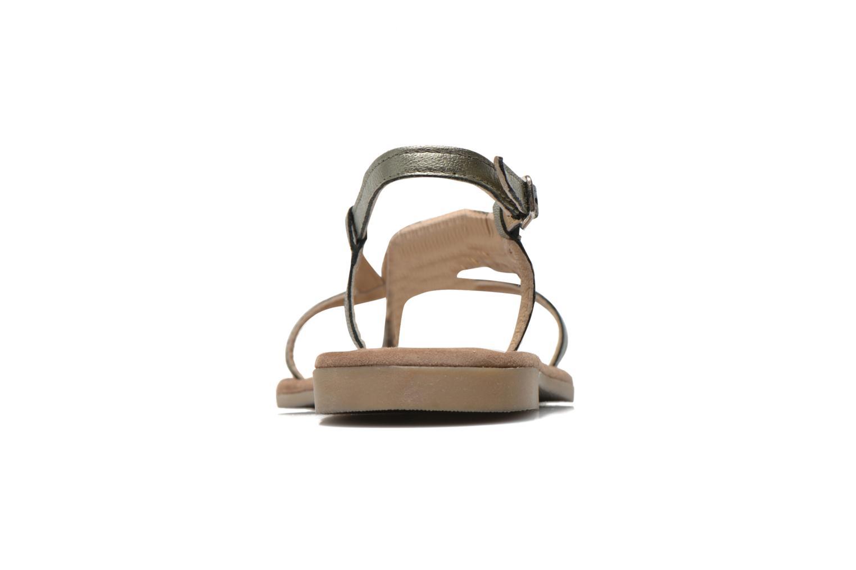 Sandalen Mustang shoes Hom grau ansicht von rechts
