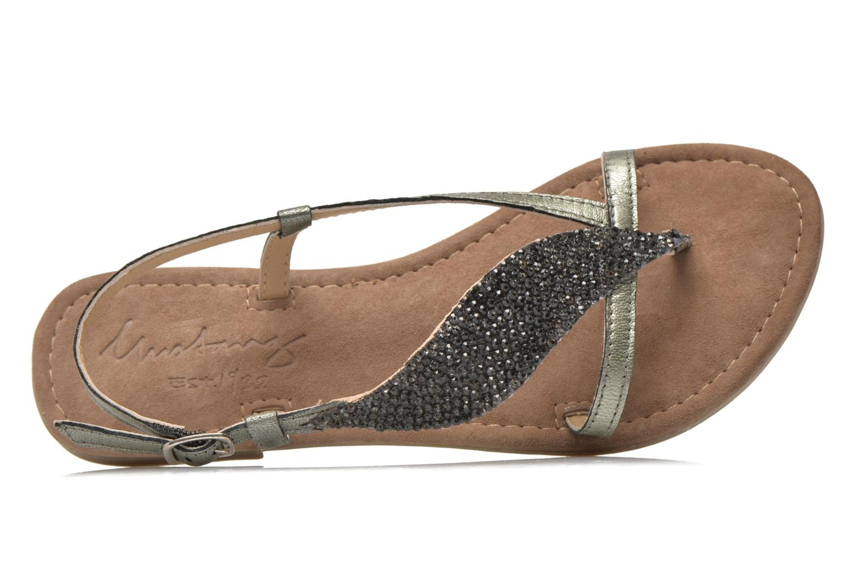 Sandales et nu-pieds Mustang shoes Hom Gris vue gauche