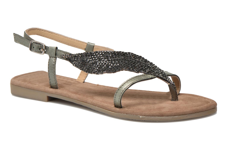 Sandales et nu-pieds Mustang shoes Hom Gris vue détail/paire