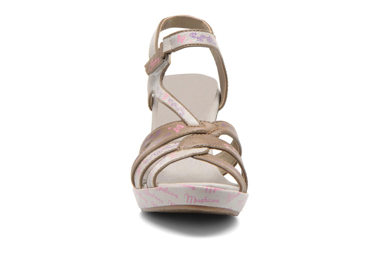 Sandales et nu-pieds Mustang shoes Esplash Multicolore vue portées chaussures