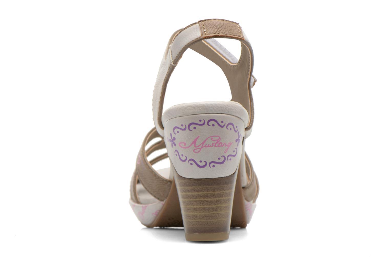 Sandales et nu-pieds Mustang shoes Esplash Multicolore vue droite
