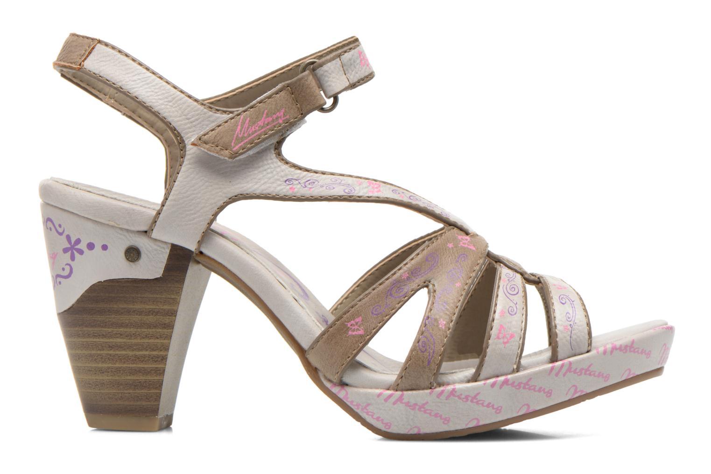 Sandales et nu-pieds Mustang shoes Esplash Multicolore vue derrière